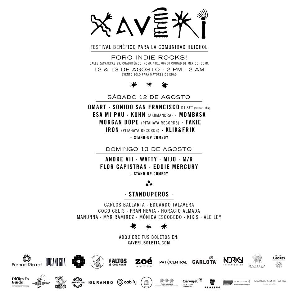 Festival Xaveri, Hilando Historias, Hilando Historias MX, música, CDMX, Huichol, Wixárika, arte huichol, arte, artesanía, artisan, Huichol art