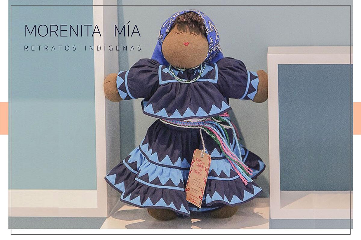 muñeca artesanal