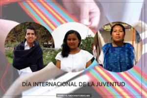 DÍA INTERNACIONAL DE LA JUVENTUD. 3 jóvenes artesanos que rompen fronteras