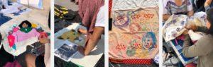 Manta de sanación, patchwork healing blanket