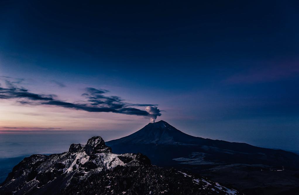 Popocatépetl, Iztaccíhuatl