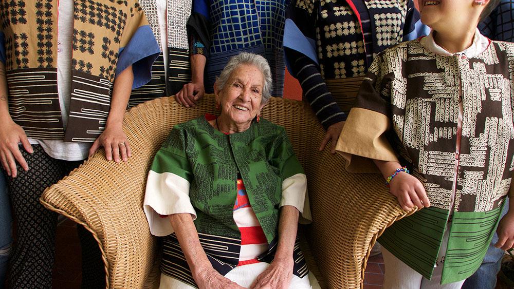 Ofelia & Antelmo, arte textil