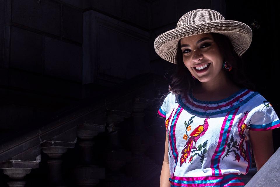 Ericka Carmona, Zinacantán, bordado Mexicano, handmade