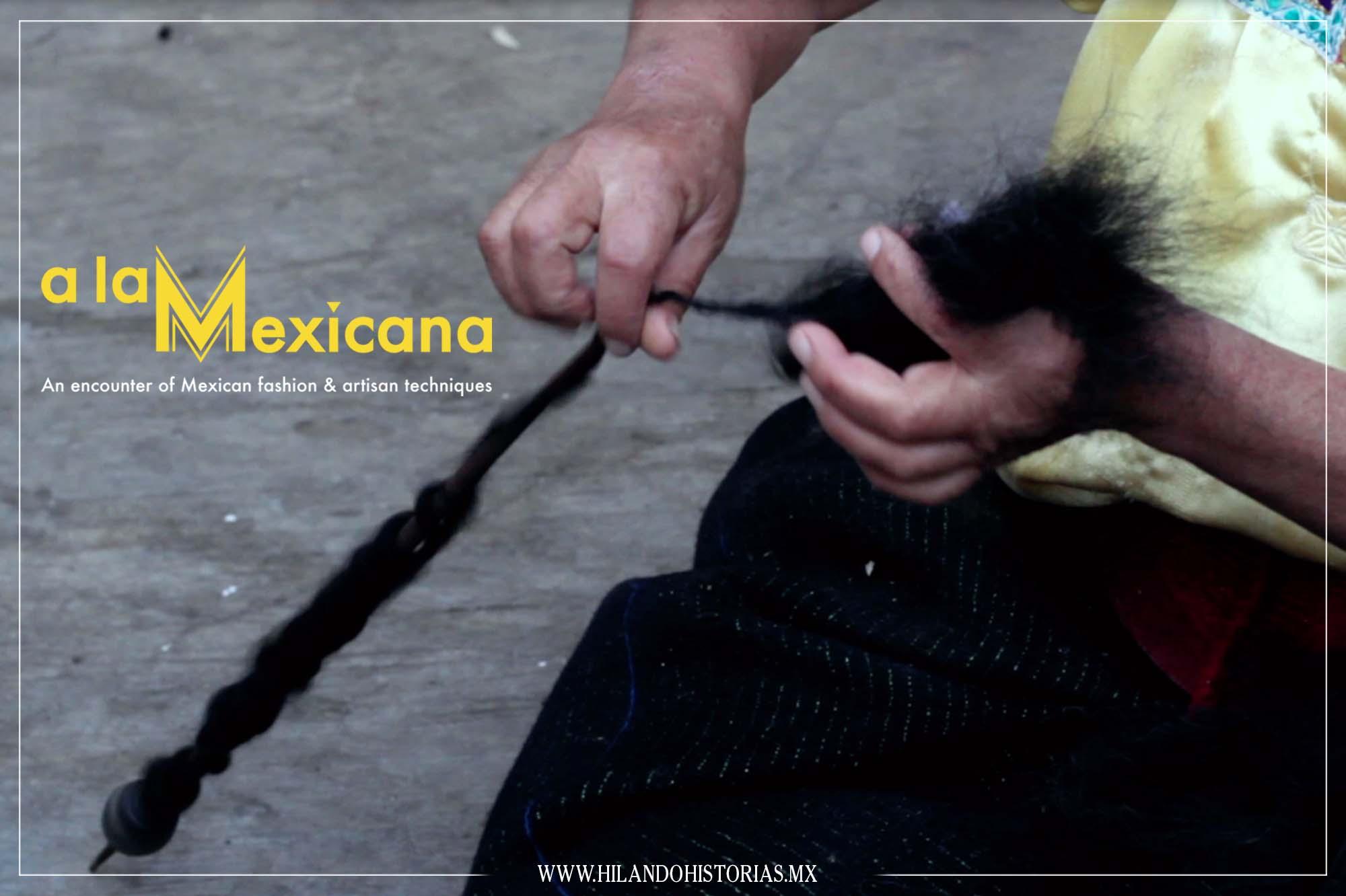 A LA MEXICANA. An encounter of Mexican fashion & artisan techniques