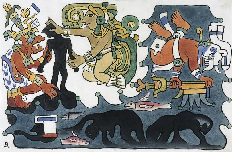 Diego Rivera Popol Vuh